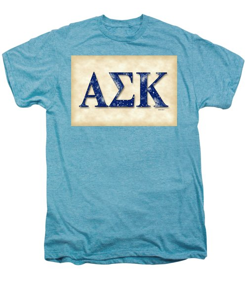 Alpha Sigma Kappa - Parchment Men's Premium T-Shirt by Stephen Younts