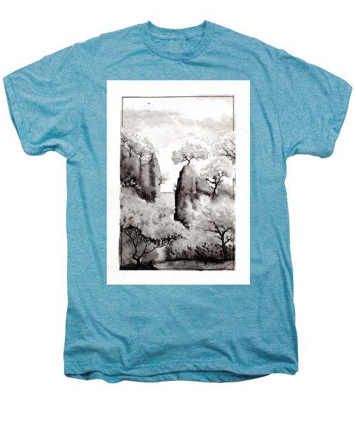 Arbres Separes Men's Premium T-Shirt by Marc Philippe Joly