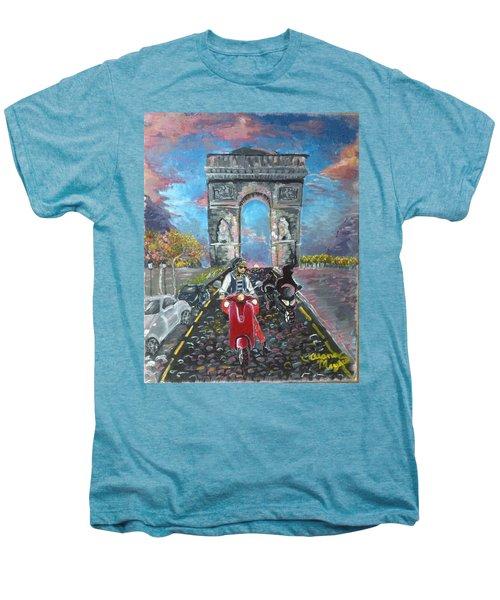 Arc De Triomphe Men's Premium T-Shirt by Alana Meyers