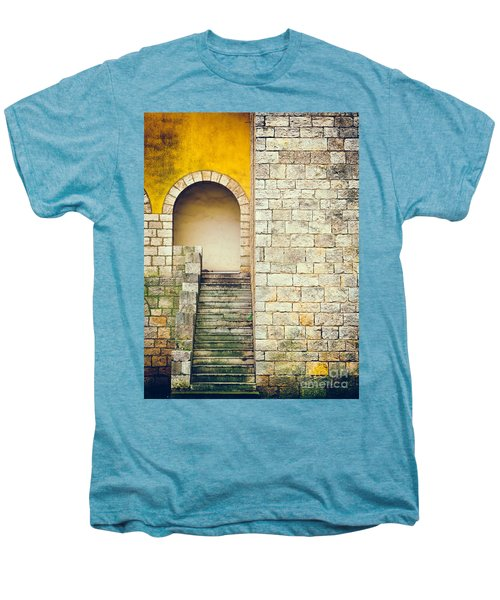 Men's Premium T-Shirt featuring the photograph Arched Entrance by Silvia Ganora