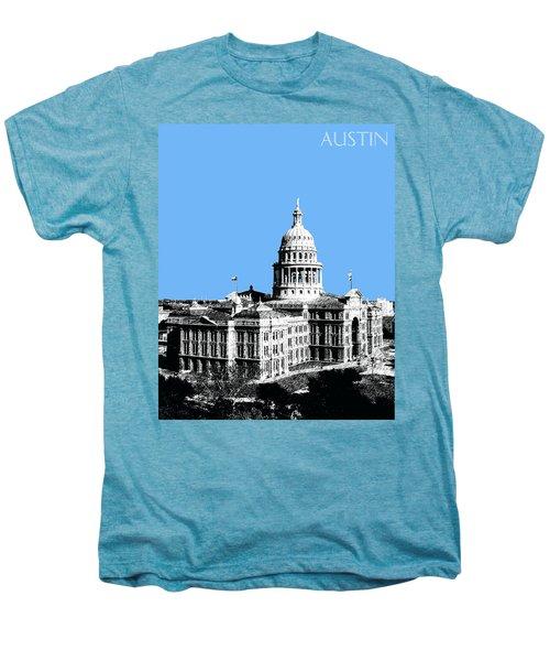Austin Texas Capital - Sky Blue Men's Premium T-Shirt