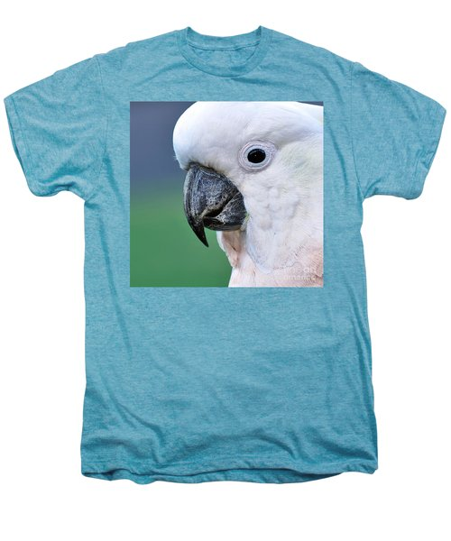 Australian Birds - Cockatoo Up Close Men's Premium T-Shirt