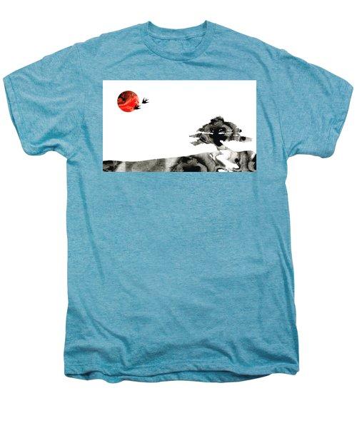 Awakening - Zen Landscape Art Men's Premium T-Shirt
