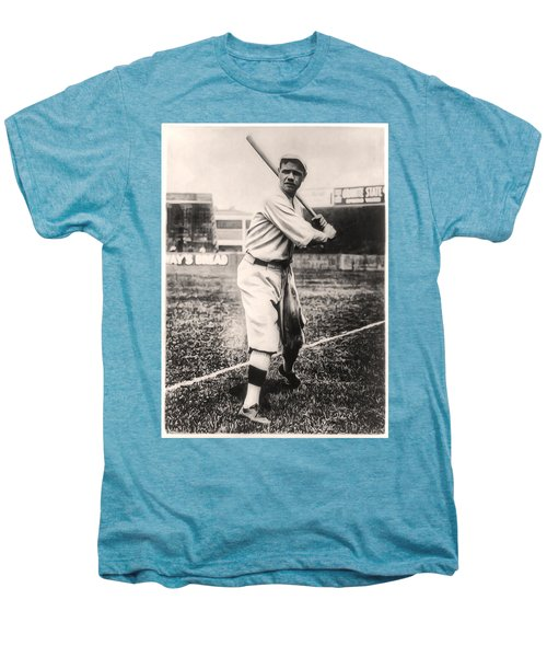 Babe Ruth Men's Premium T-Shirt by Bill Cannon