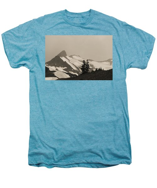 Men's Premium T-Shirt featuring the photograph Fog In Mountains by Yulia Kazansky