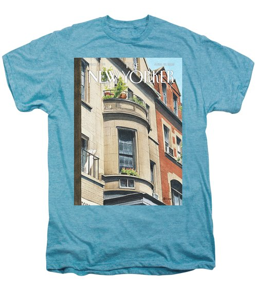 Balcony Scene Men's Premium T-Shirt