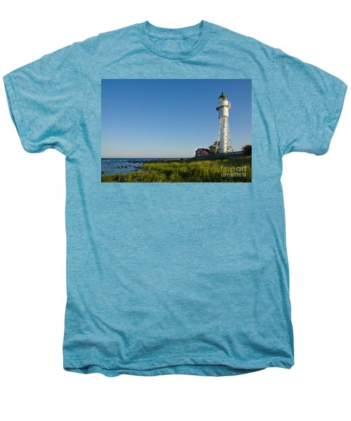 Baltic Sea Lighthouse Men's Premium T-Shirt