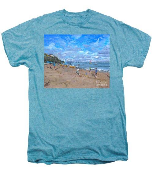 Beach Cricket Men's Premium T-Shirt