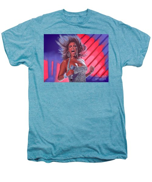 Beyonce Men's Premium T-Shirt by Paul Meijering