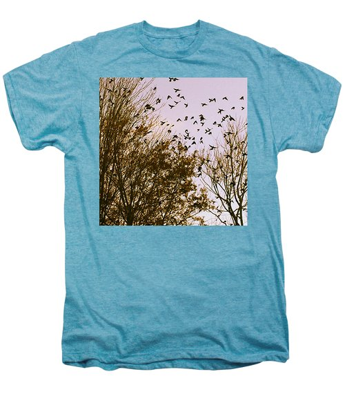 Birds Of A Feather Flock Together Men's Premium T-Shirt