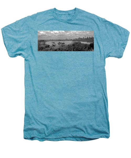 Men's Premium T-Shirt featuring the photograph Black And White Sydney by Miroslava Jurcik