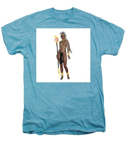 Black Beauty Men's Premium T-Shirt by Renate Janssen