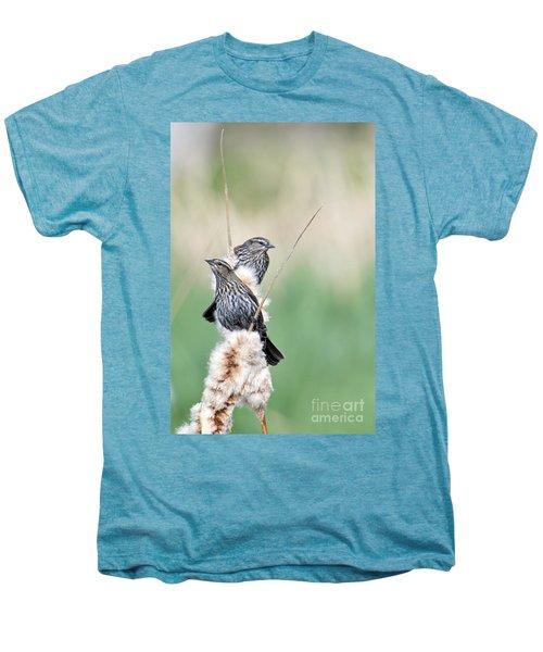 Blackbird Pair Men's Premium T-Shirt