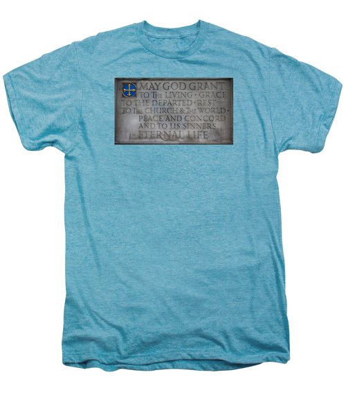 Blessing Men's Premium T-Shirt by Stephen Stookey