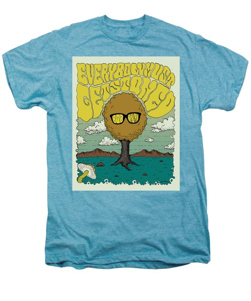 Bob Dylan - Everybody Must Get Stoned Men's Premium T-Shirt by Geraldinez