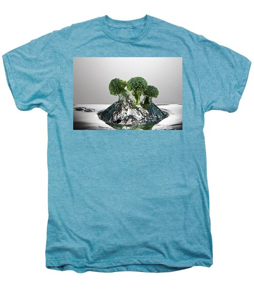Broccoli Freshsplash Men's Premium T-Shirt by Steve Gadomski