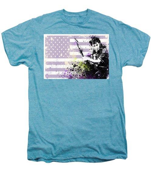 Bruce Springsteen Splats Men's Premium T-Shirt