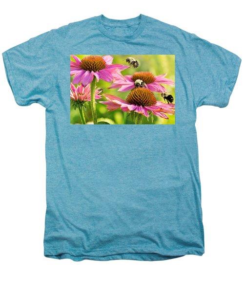 Bumbling Bees Men's Premium T-Shirt by Bill Pevlor