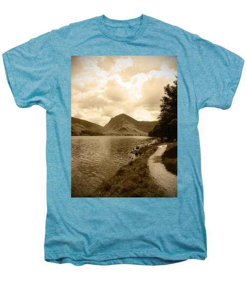 Buttermere Bright Sky Men's Premium T-Shirt by Kathy Spall