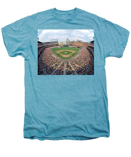 Camden Yards Baltimore Md Men's Premium T-Shirt by Panoramic Images