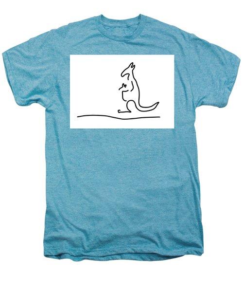 Cangarooh Kaenguru Bag Baby Men's Premium T-Shirt