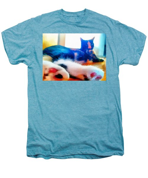 Cat Feet Men's Premium T-Shirt