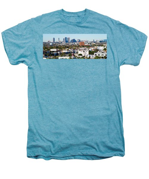 Century City, Beverly Hills, Wilshire Men's Premium T-Shirt by Panoramic Images
