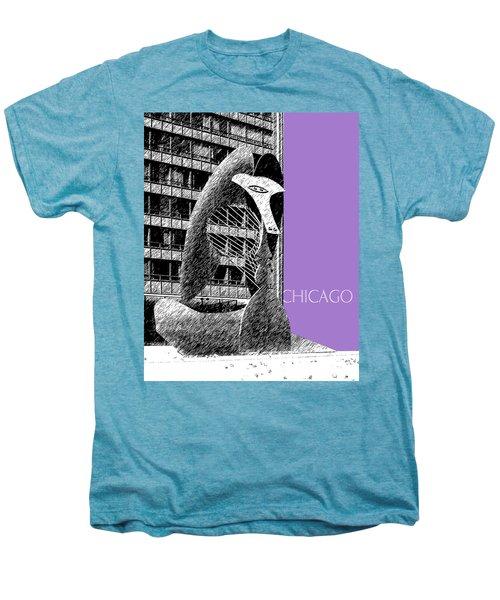 Chicago Pablo Picasso - Violet Men's Premium T-Shirt