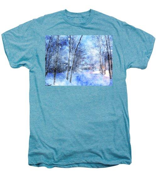 Christmas Wishes Men's Premium T-Shirt