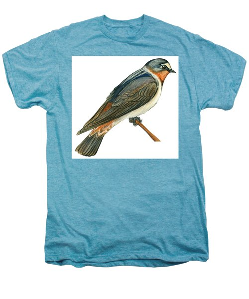 Cliff Swallow  Men's Premium T-Shirt by Anonymous