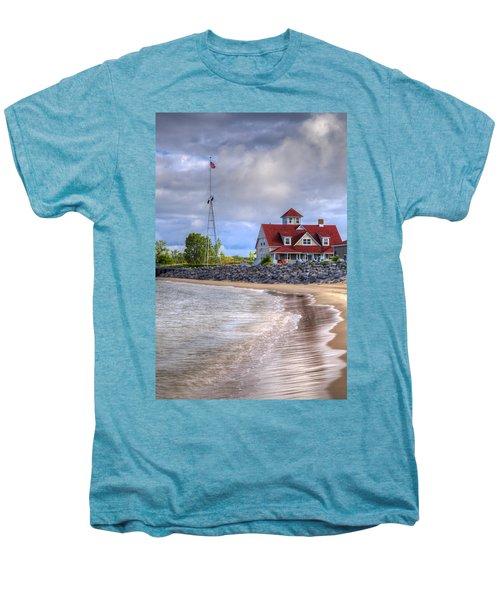 Coast Guard Station In Muskegon Men's Premium T-Shirt