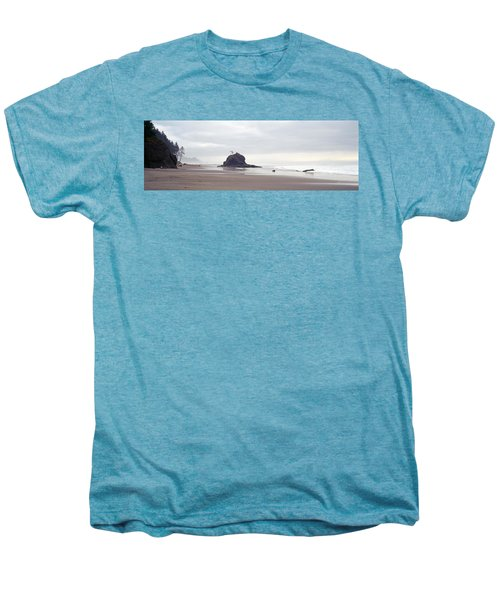 Coast La Push Olympic National Park Wa Men's Premium T-Shirt by Panoramic Images