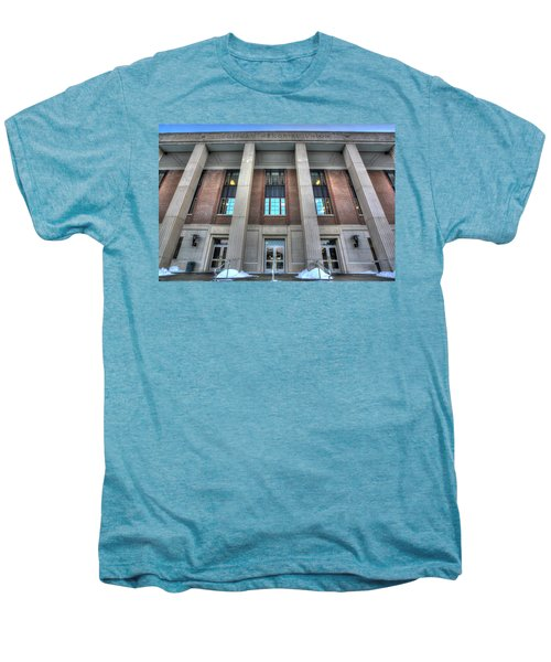 Coffman Memorial Union Men's Premium T-Shirt by Amanda Stadther