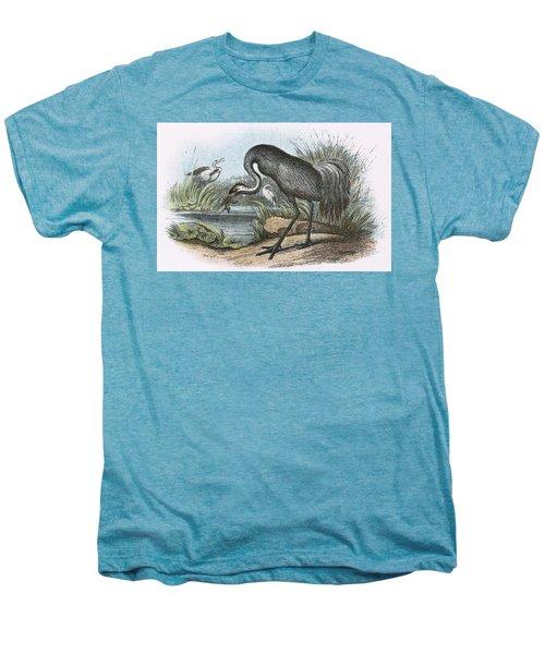 Common Crane Men's Premium T-Shirt by English School