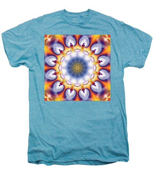 Cosmic Spiral Kaleidoscope 34 Men's Premium T-Shirt