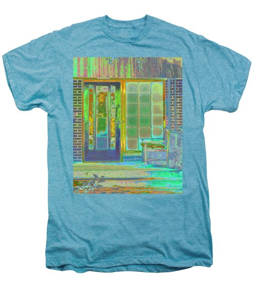 Cottage Porch Men's Premium T-Shirt