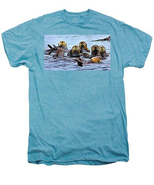 Couch Critters Men's Premium T-Shirt by Kristin Elmquist