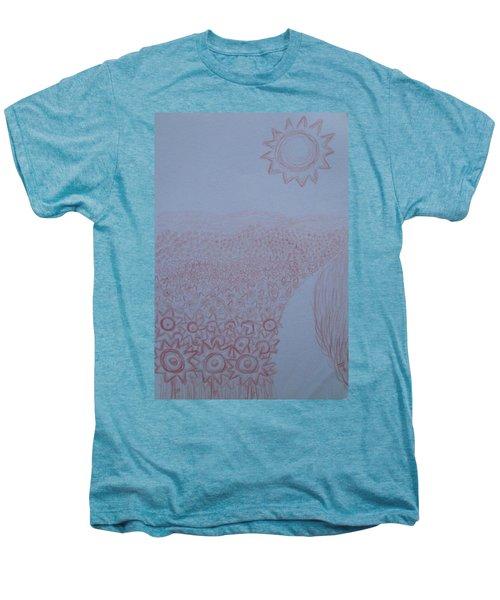 Crazy Quilt Star Gown Men's Premium T-Shirt