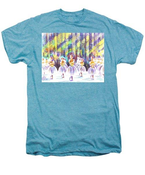 Dancers In The Forest Men's Premium T-Shirt by Kip DeVore