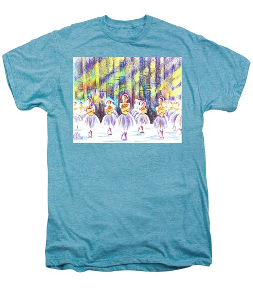 Dancers In The Forest Men's Premium T-Shirt