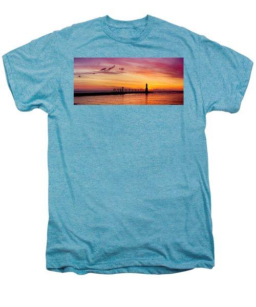 Dawn Of Promise Men's Premium T-Shirt by Bill Pevlor