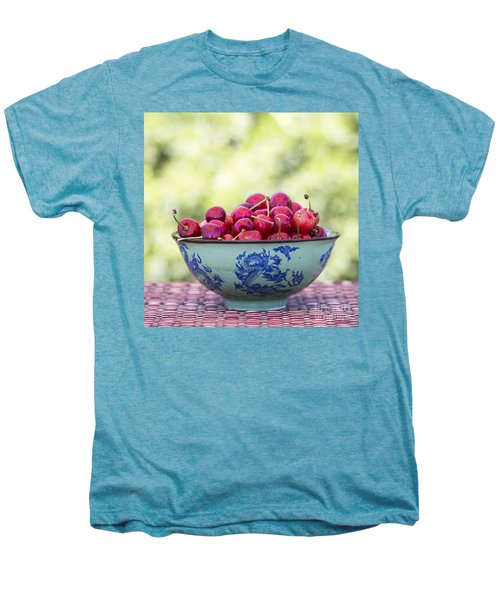Men's Premium T-Shirt featuring the photograph Delicious by Linda Lees