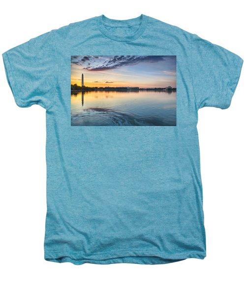 Men's Premium T-Shirt featuring the photograph Democracy Awakens by Sebastian Musial