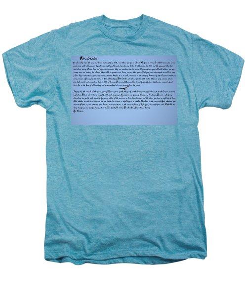 Desiderata Men's Premium T-Shirt by Bill Cannon