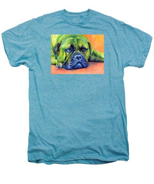 Dog Tired Men's Premium T-Shirt by Hailey E Herrera