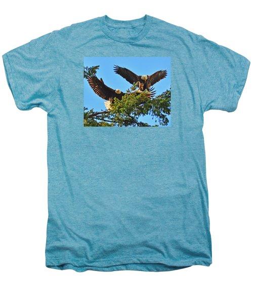 Double Landing Men's Premium T-Shirt
