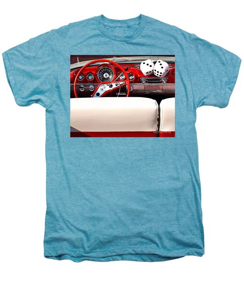Drive-in Lounge - 1960 Chevy Men's Premium T-Shirt
