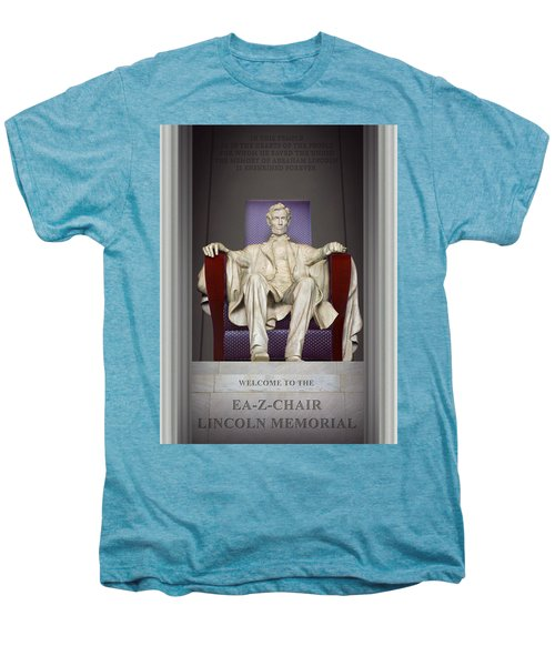 Ea-z-chair Lincoln Memorial 2 Men's Premium T-Shirt