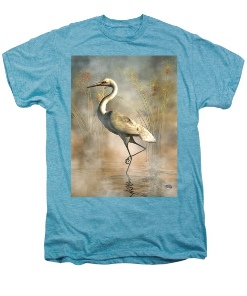 Egret Men's Premium T-Shirt