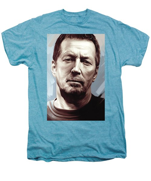 Eric Clapton Artwork Men's Premium T-Shirt
